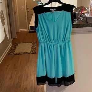 Mint and Black Dress!